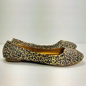 Lucky Brand Ballet Flats Leopard